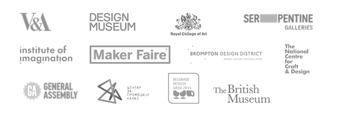 Some of our past collaborators, partners and clients