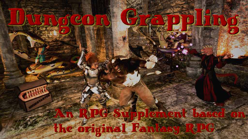 Dungeon Grappling RPG Supplement project video thumbnail