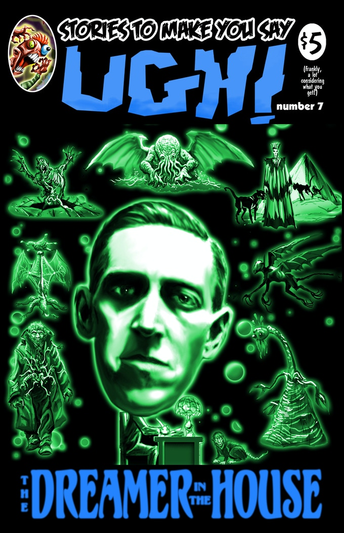 Lovecraft in the House! A touching tribute.