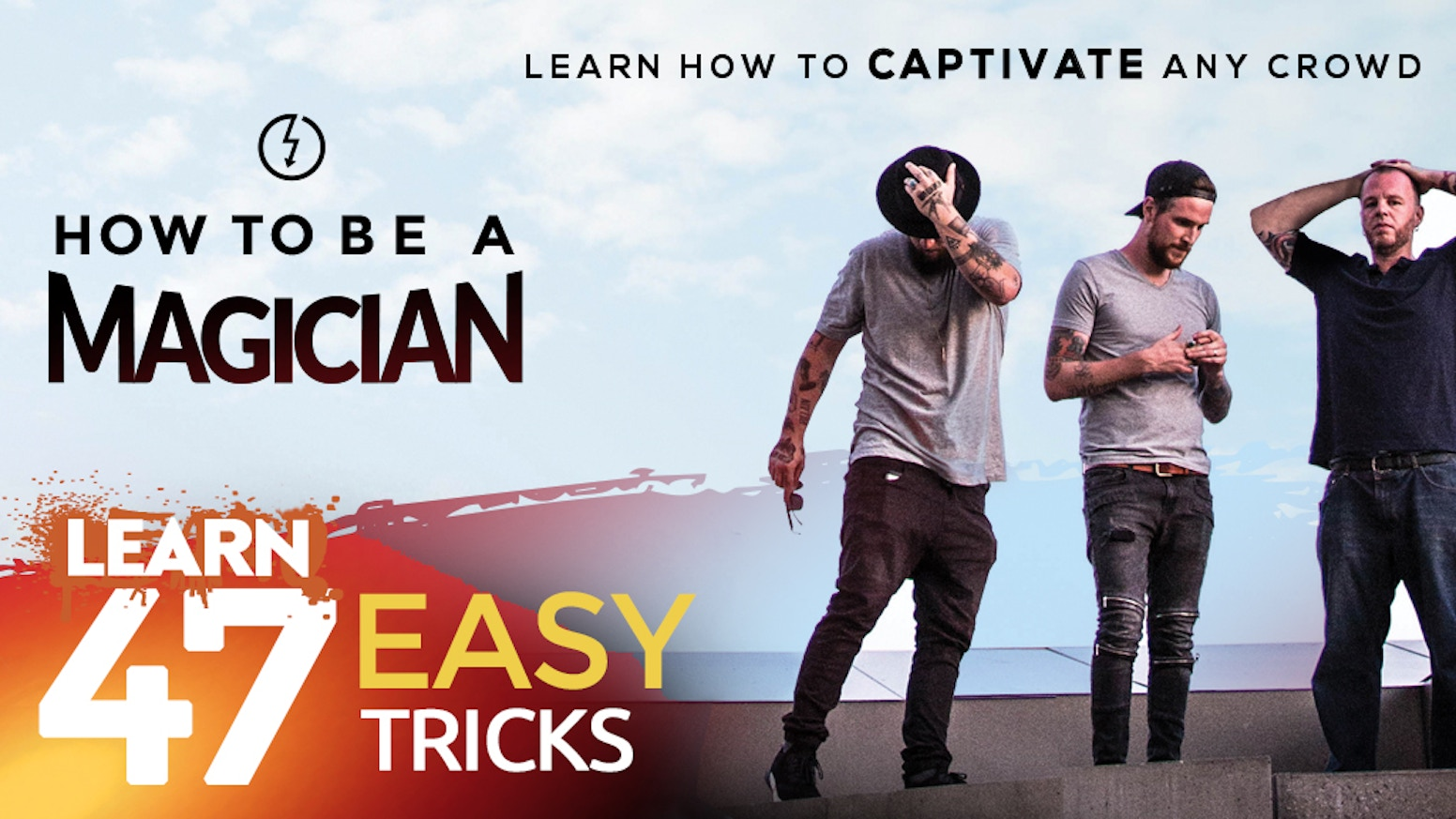 47 incredible tricks ANYONE can do. An ALL NEW Magic Kit. Do what no one else can do.