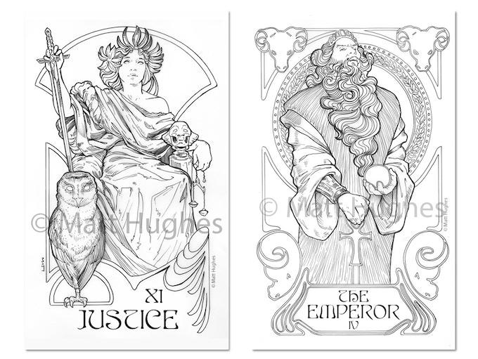 JUSTICE and THE EMPEROR Originals