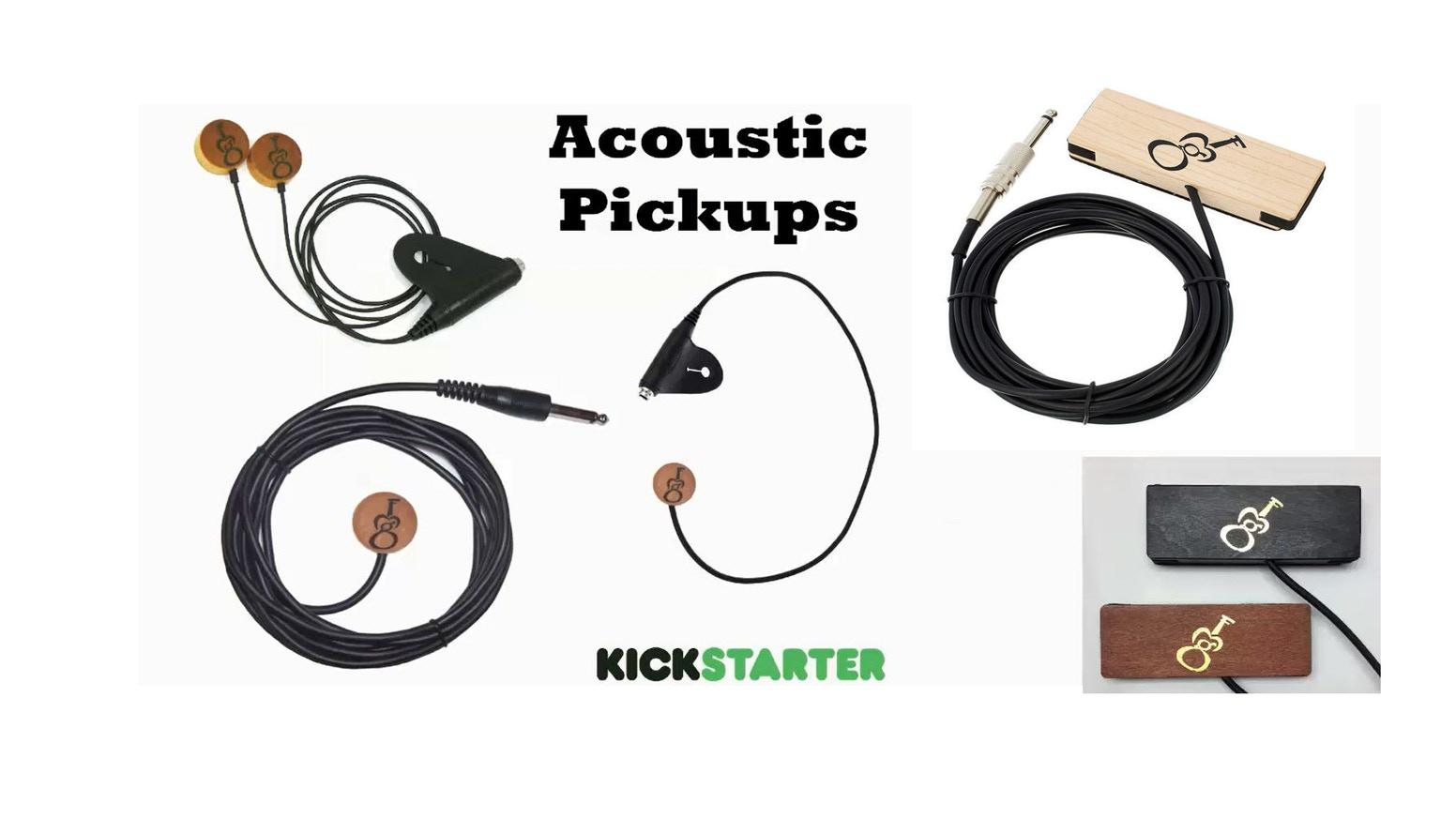 gmf acoustic pickups for guitars and stringed instruments by gmf music kickstarter. Black Bedroom Furniture Sets. Home Design Ideas