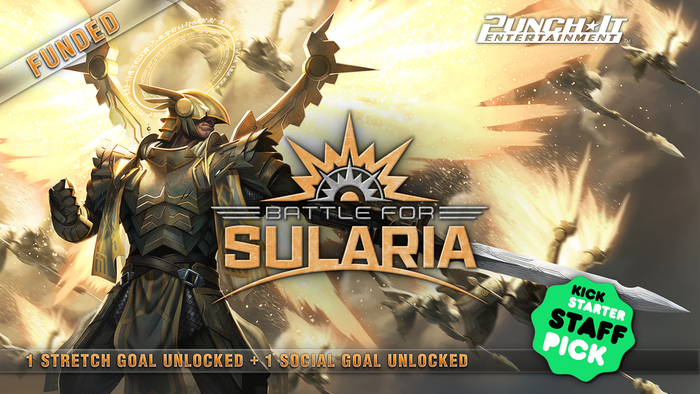 Battle for Sularia® is a science-fiction themed strategic card game. Unique deck construction and two resource system! For 2+ players.