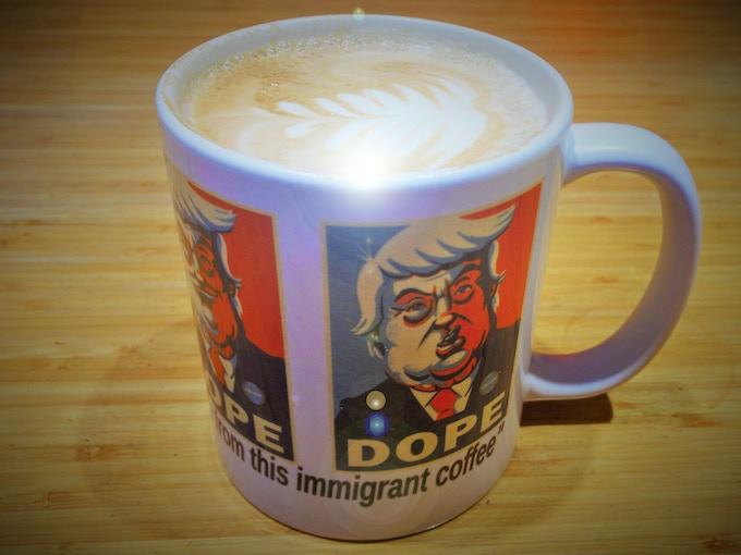 Immigrant safe coffee mug!