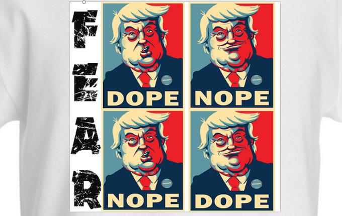 Drumph Fear T-shirt