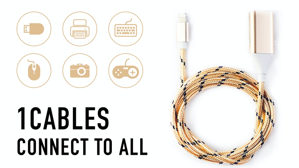 1Cables: Turn your smartphone into a computer project video thumbnail