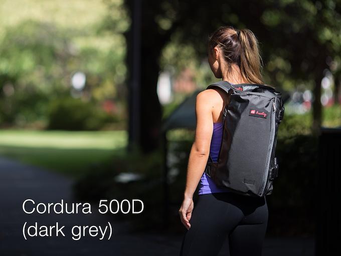 Dark grey in Cordura 500D fabric