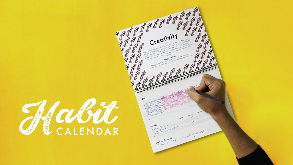 Habit Calendar: Track your habits. Change your life. project video thumbnail