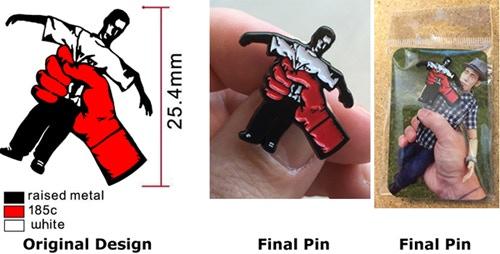 Little George pin