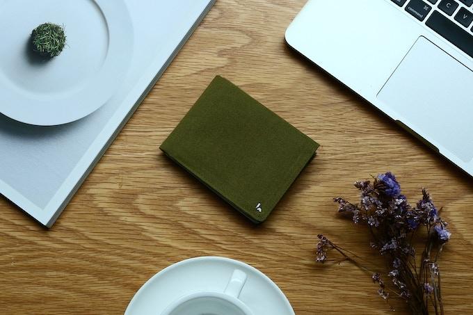 KIN in Olive Green.