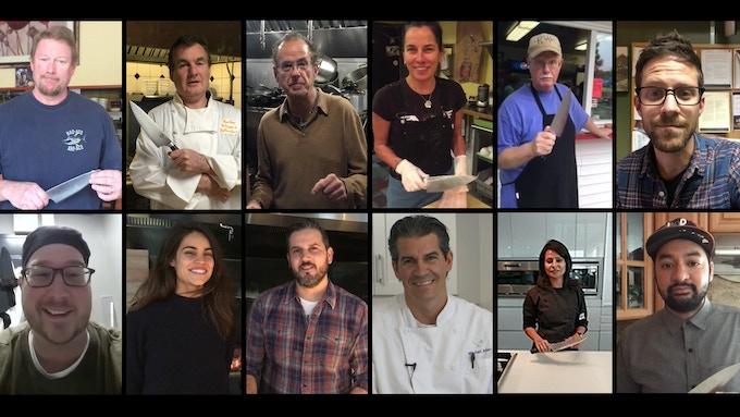 Chefs From Coast to Coast Just Love the Habitat KNASA Chef Knife! (Video testimonials below!)
