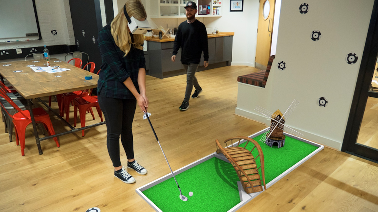 Interactive virtual content in the physical world: play mini-golf, visit Mars, or paint in 3D. Then create and share your own content. 2019 Update: ZapBox 2.0 is now available! See www.zappar.com/zapbox for all the details or click below to buy now!