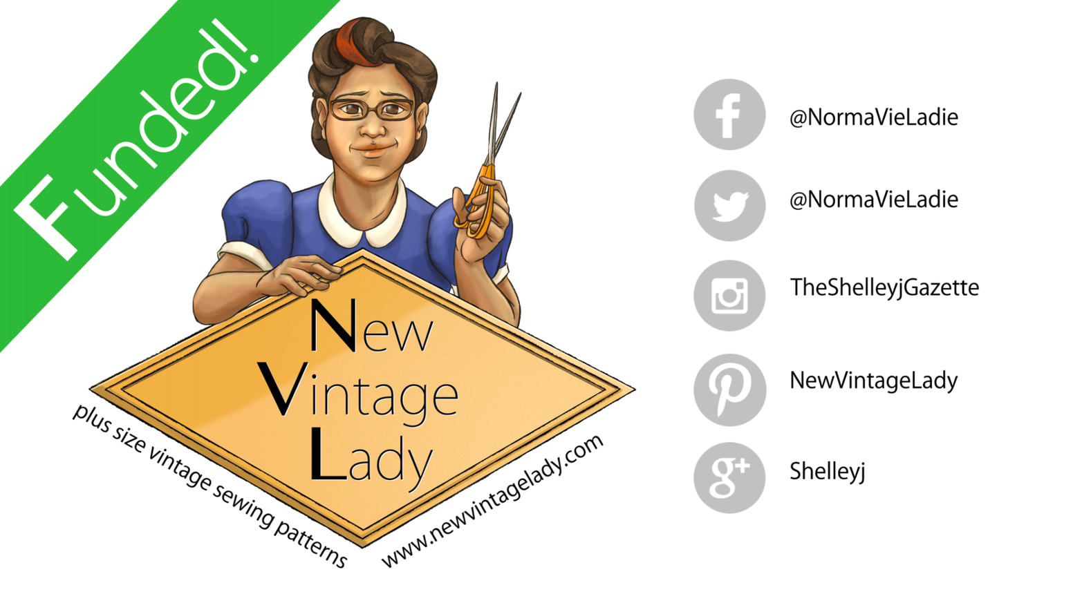 "New Vintage Lady Multi-size reproduction sewing patterns for the plus size person. Sizes from 40"" bust to 60"" bust! #yaysewing"