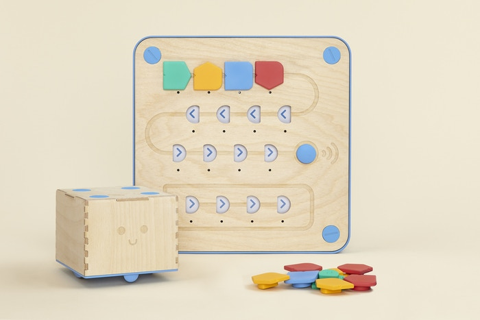 A playful programming language you can touch. Montessori approved, and LOGO Turtle inspired. Learn programming away from the screen.