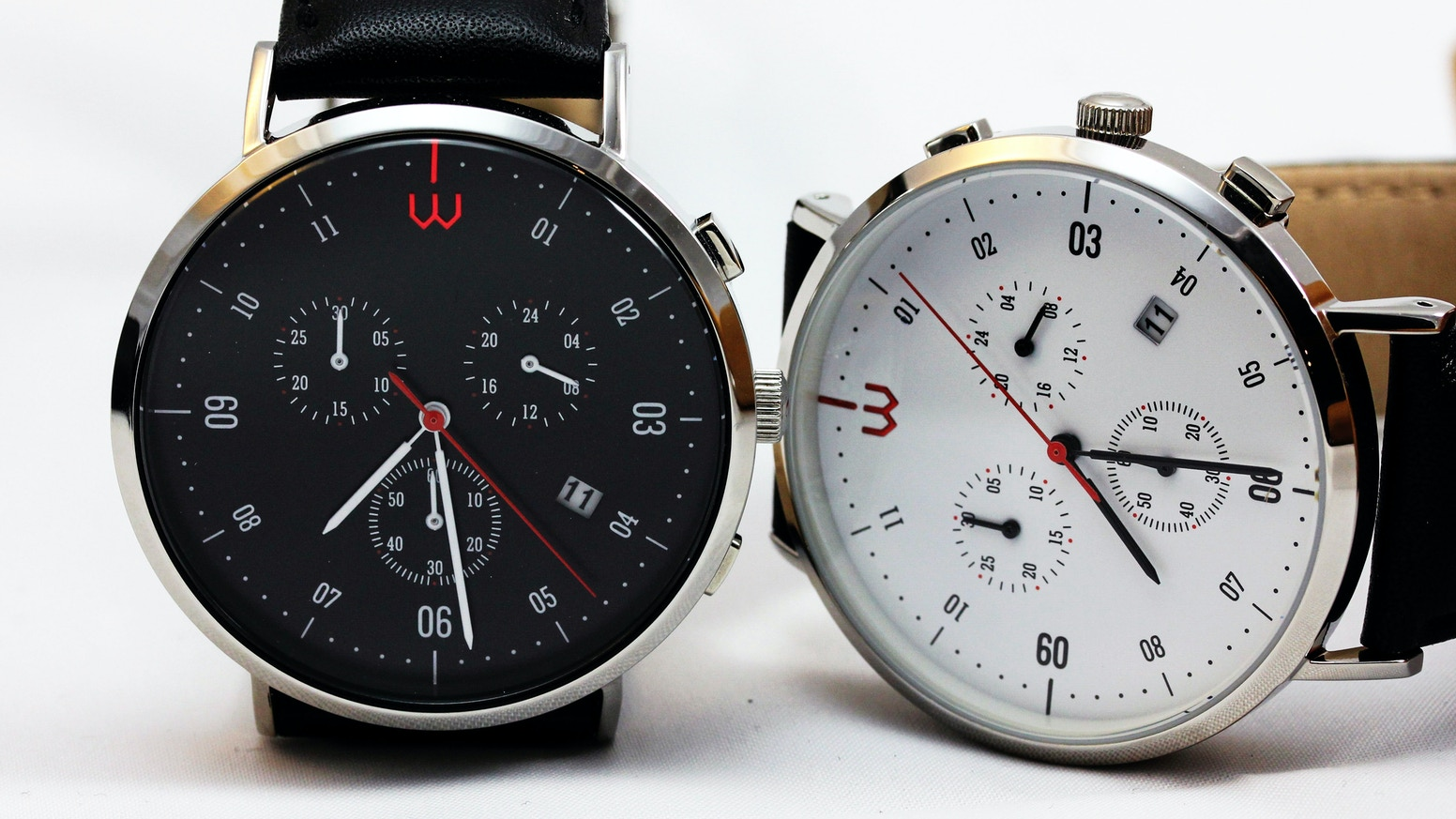 Elegant classic watch. Smart without charging. Do extra things with your watch - control your phone or accessories. Easy & cool.