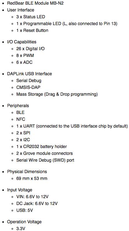 Bluetooth 5 Ready: BLE Module, Nano 2 & Blend 2 by RedBear