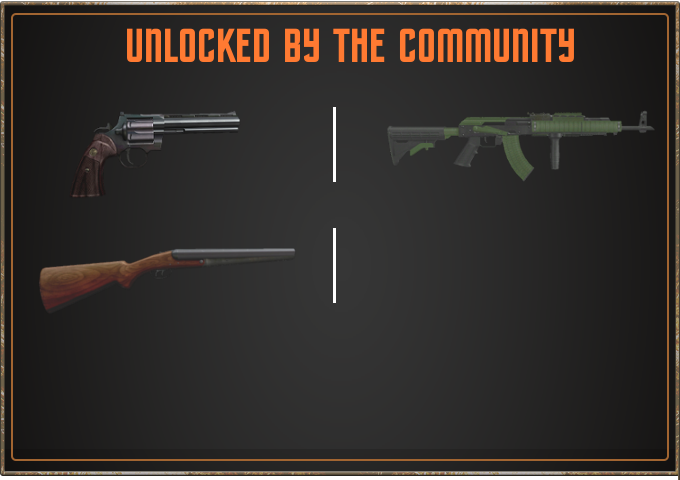 Items unlocked through community rewards!