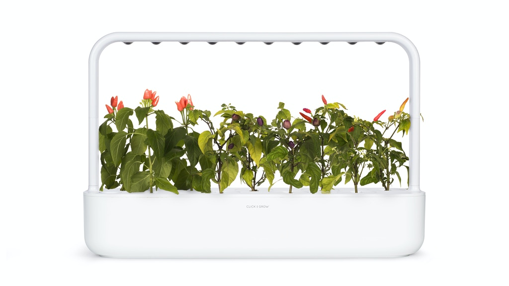 The Smart Garden: Your solution for better food. project video thumbnail