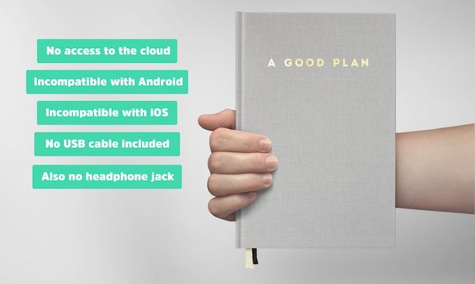 It's a book.