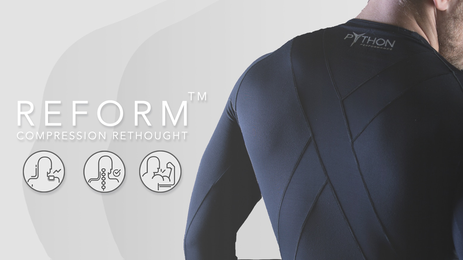 Intelligently designed to provide stabilization, increased performance, and postural support never seen before in compression wear.