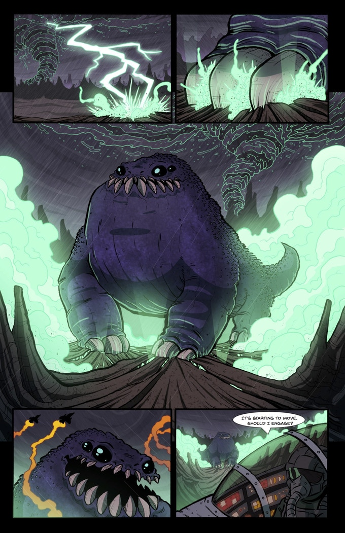 Monster of the Week Page 4