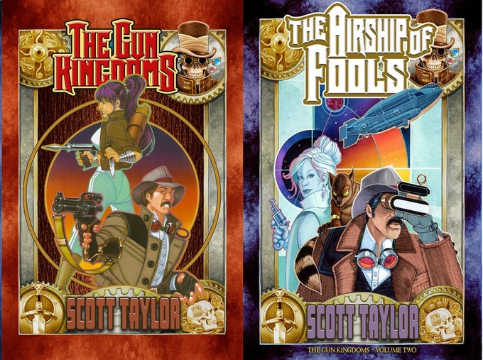 Try out these two fast-paced adventure light novels!