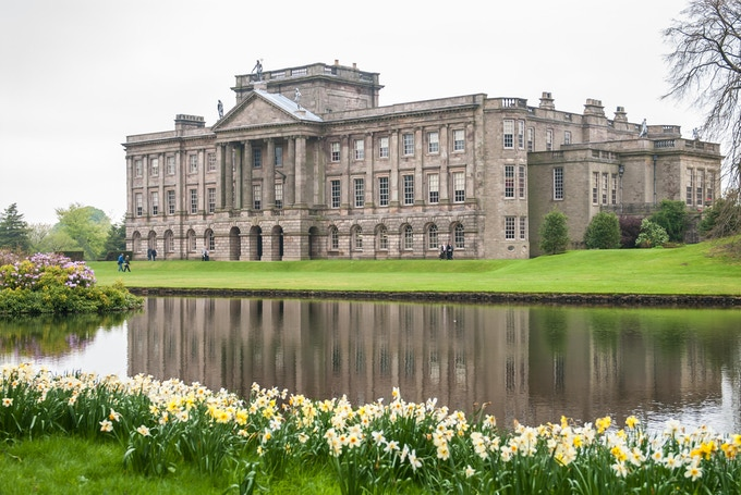 Lyme Park (Pemberley in Pride and Prejudice 1995) is one of the many film locations included in the guidebook.