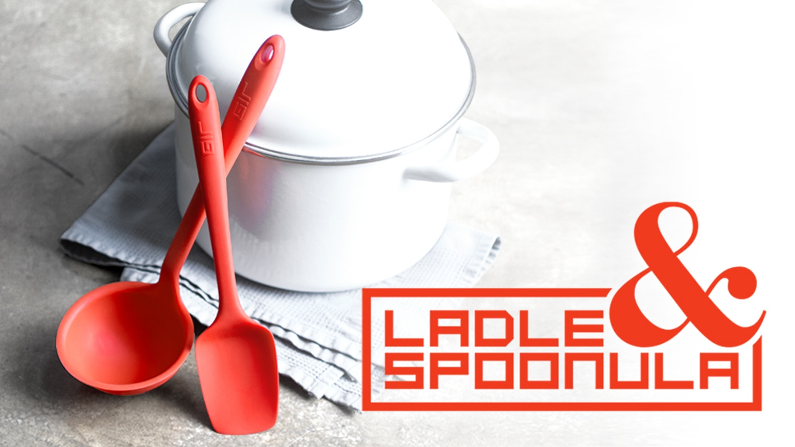 The ladle and spoonula you've been waiting for. Precision-pouring edge, perfect flexibility. Delivered in time for holiday gift-giving.