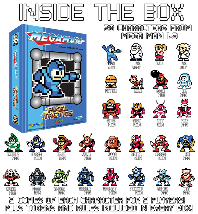 Mega Man Pixel Tactics! by Jasco Games — Kickstarter