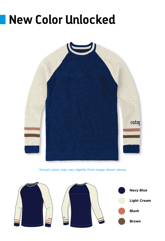 ddcb6ea595c3 Made in Bolivia with llama fiber, the Libre Sweater is our answer to the  garment that doesn't exist any more—a beautiful, rugged knit engineered to  be put ...