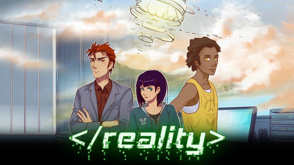 </reality> - Visual Novel Game project video thumbnail