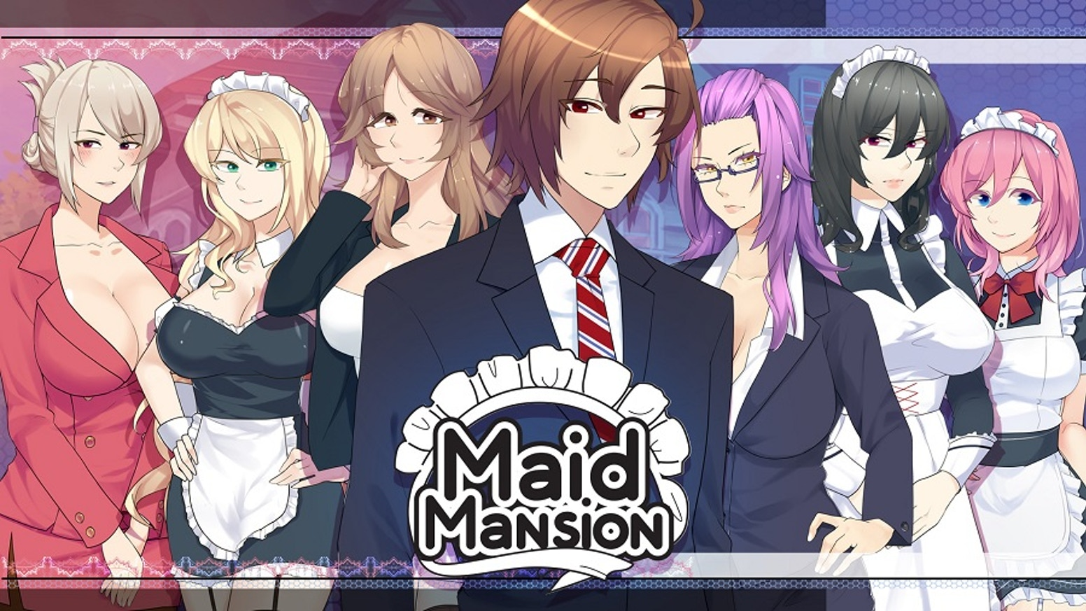 In this visual novel filled with beautiful maids, you must tempt fate with your decisions as the lord of your new estate, Maid Mansion!