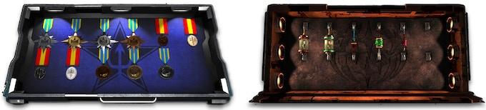 Sol and Genari Medal Cases