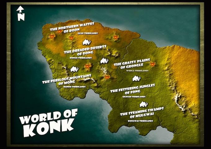 The World Of Konk