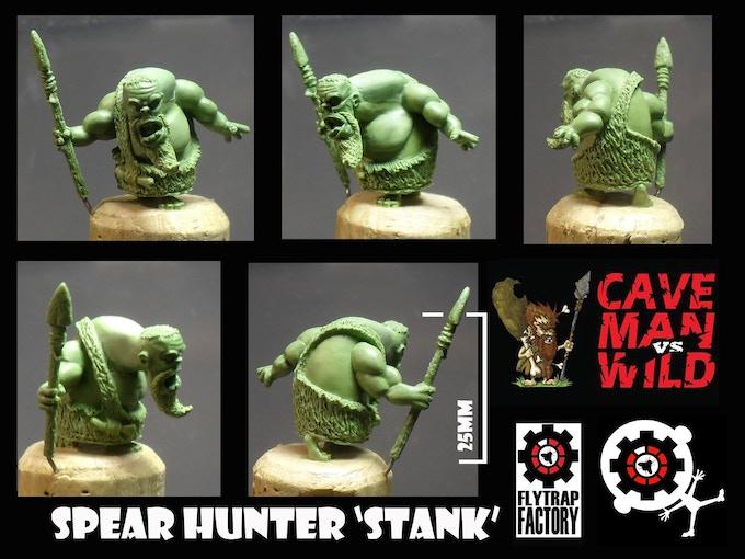 Stank the Tribal Hunter (28mm Tall)