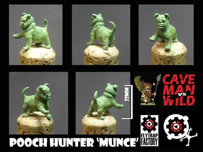 Tribal Hunting Dog (22mm Tall)