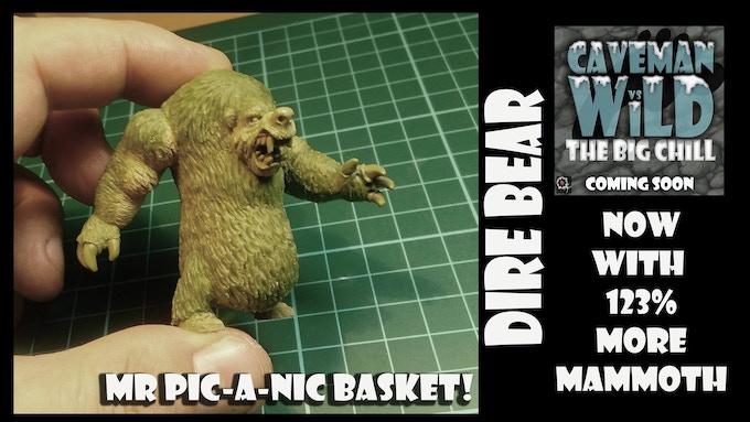 Dire Bear (60mm Tall)