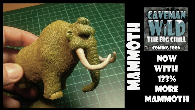 Mammoth (Adult 72mm Tall/ Baby 40mm Tall)
