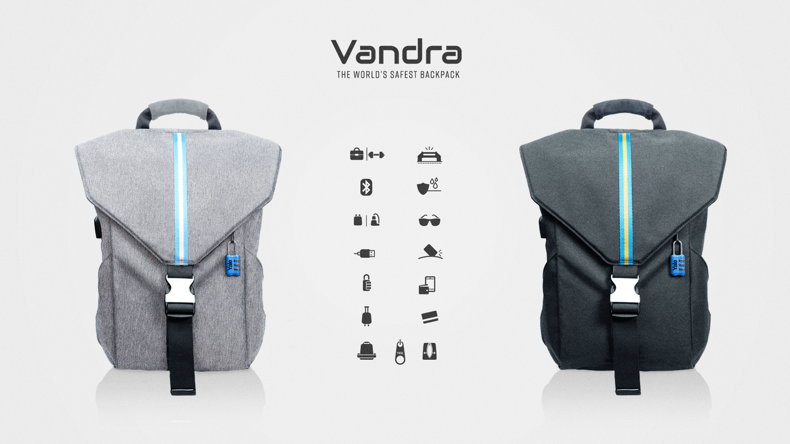2a03d5d4638d9f Vandra | The world's safest backpack with 15 smart features to protect and  organize your belongings