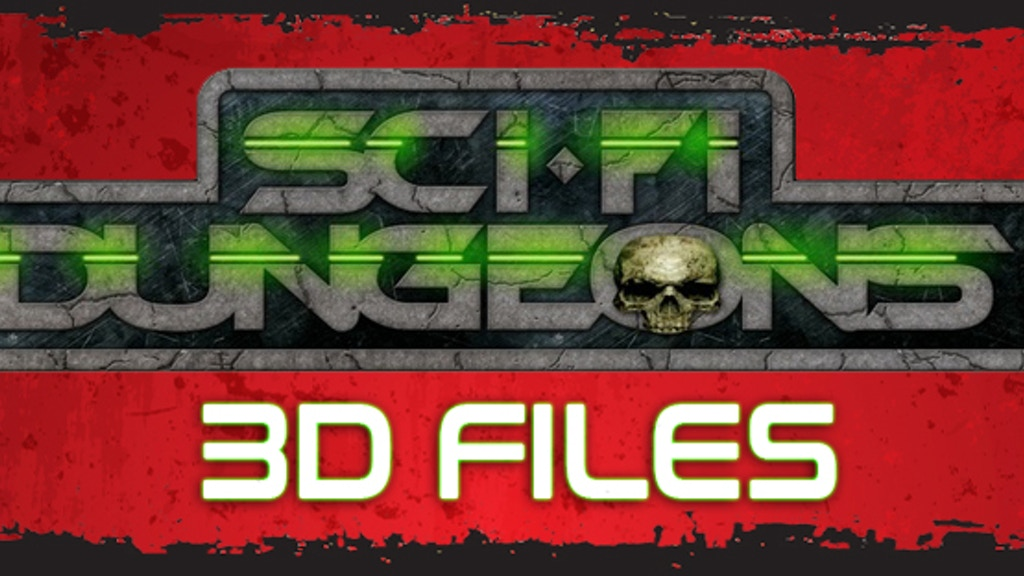 Sci-Fi Dungeon 3D Files project video thumbnail