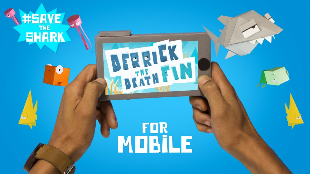 Derrick for Mobile - Save the Shark! project video thumbnail