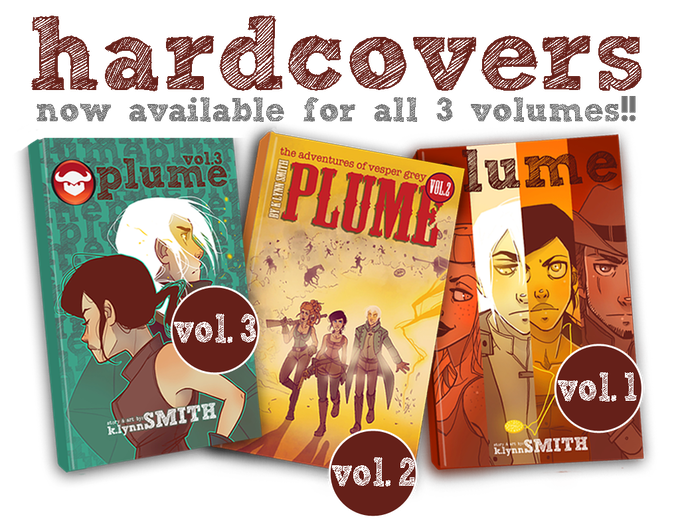 ALL VOLUMES ARE NOW AVAILABLE IN HARDCOVER