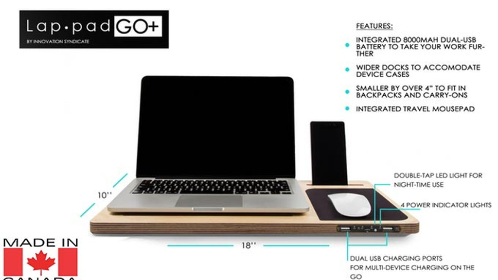 LapPad GO+ | First Mobile Workstation w/Built-in Charging project video thumbnail