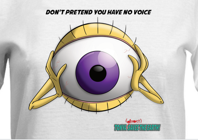 Don't pretend you have no voice