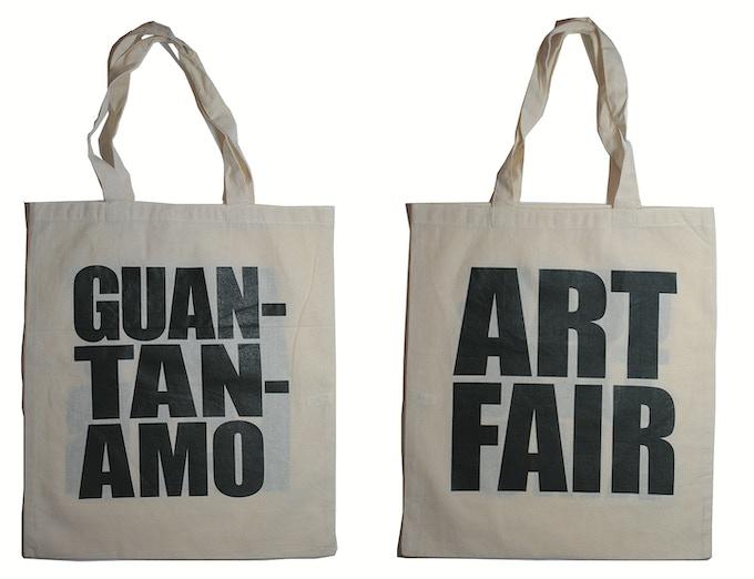New $40 Reward: GUANTANAMO ART FAIR bag