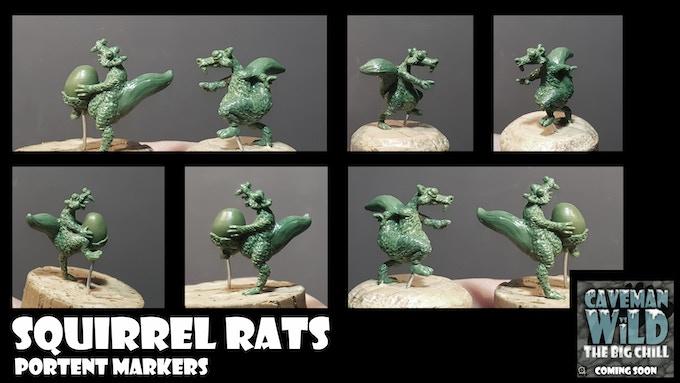 Squirrel Rats (20mm Tall)