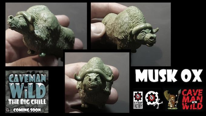 Musk Ox (50mmTall)