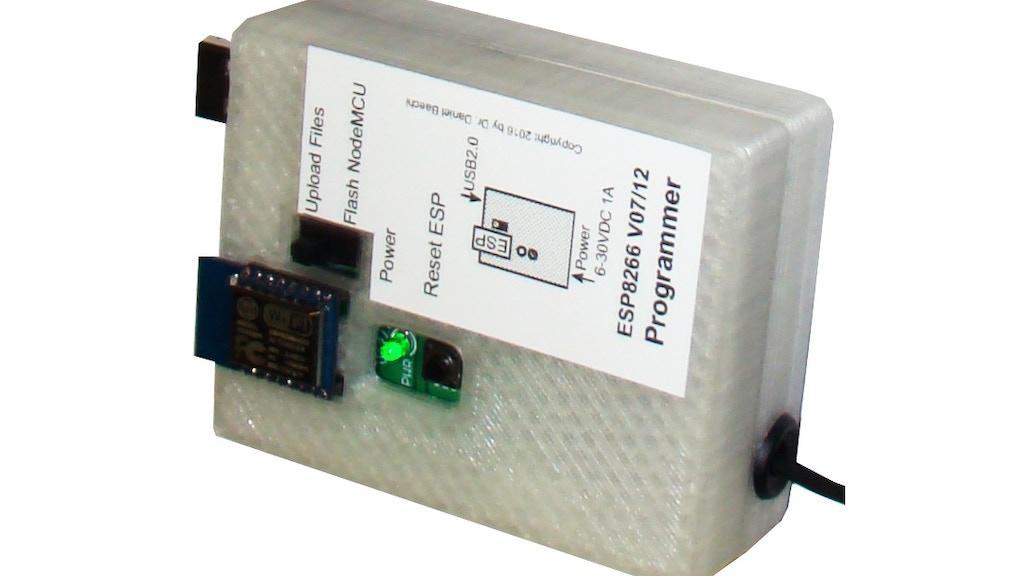 Project image for ESP8266 V01/07/12 programmer