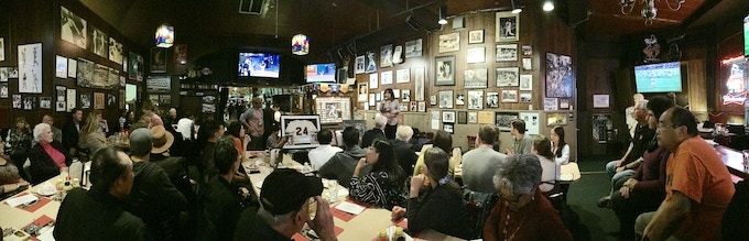 A wonderful night at Lefty's for the Diamond Diplomacy party! Thank you all for coming out!