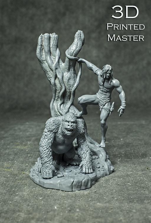 Lord Of The Jungle Master 3D Print